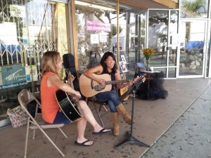 GGS students rocking at the Sherman Oaks Street Fair 2012
